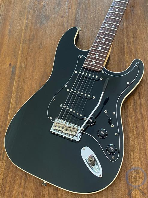 Fender Stratocaster, Aerodyne, Black on Black, 2006