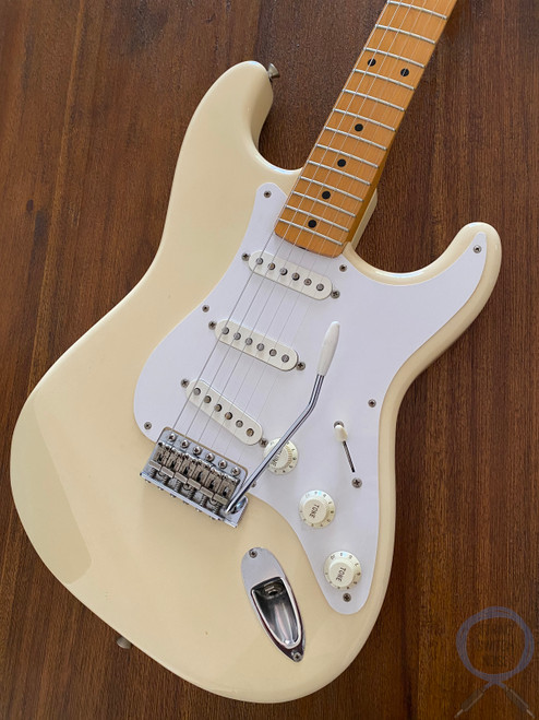 Fender Stratocaster, '57, Vintage White, 2002, USA Texas Pickups