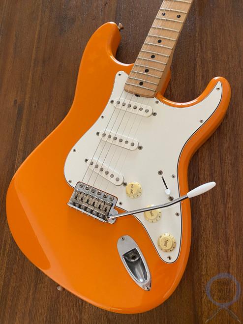 Fender Stratocaster, Capri Orange, RARE Colour, 1993