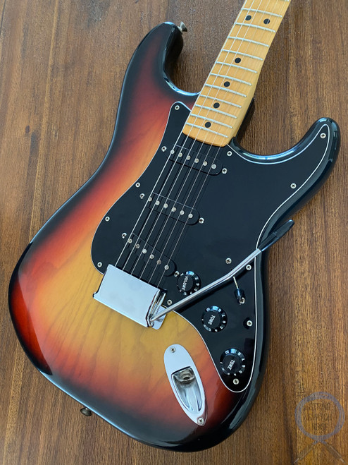 Fender Stratocaster, Sunburst, USA, 1977, OHSC, NEAR MINT