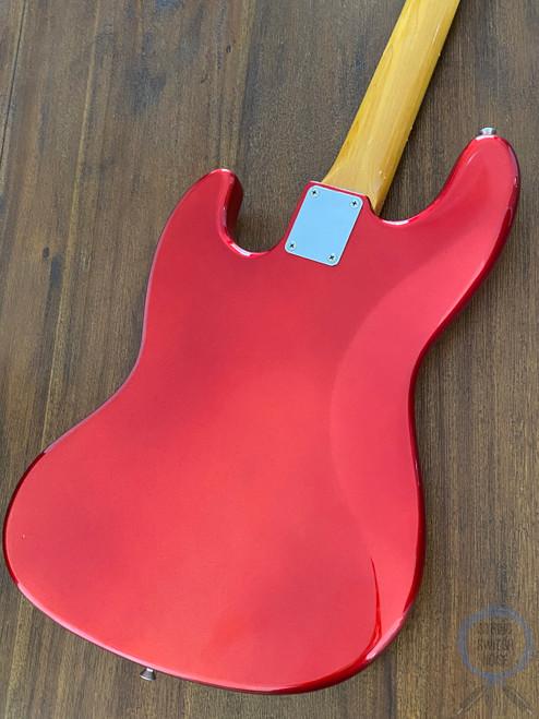 Fender Jazz Bass, '62, Candy Apple Red, 1999, USA Pickups