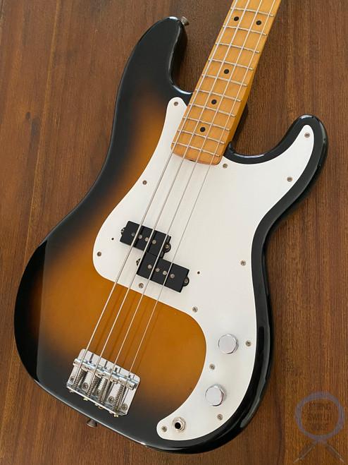 Fender Precision Bass, '57, Two Tone Sunburst, 1989