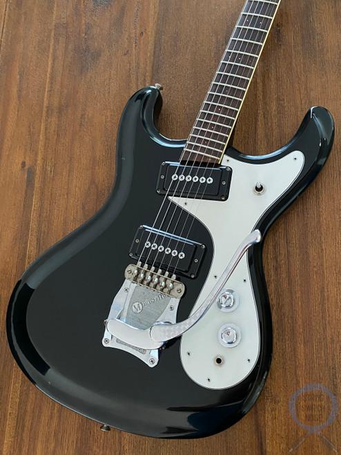 Mosrite Avenger, Offset Guitar, Firstman,1970s Vintage, Black