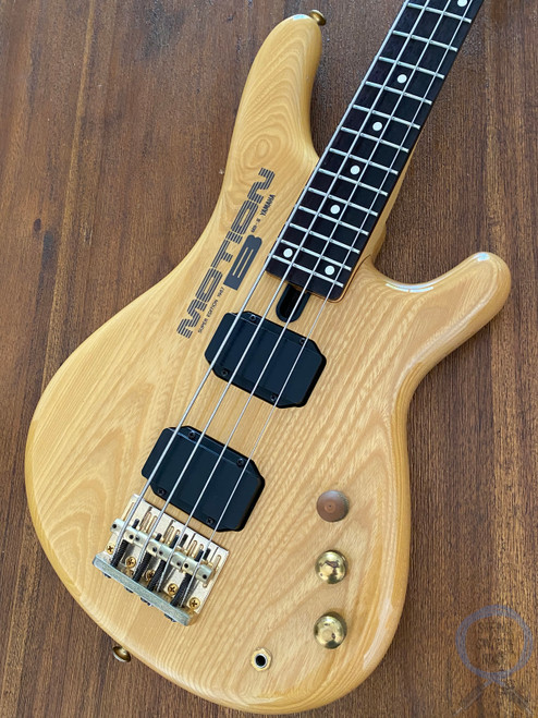 Yamaha Motion B Bass, MB III, Natural Finish, Medium Scale, 1986 (7K170xx)