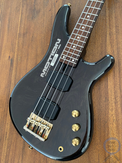 Yamaha Motion B Bass, MB III, Transparent Black, Medium Scale, 1986 (7J030xx)