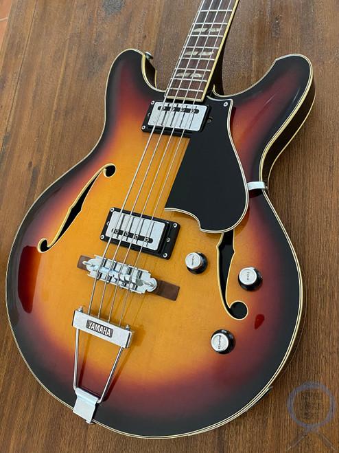 Yamaha SA-70, Full Hollow Body Bass, Sunburst, VINTAGE 1974