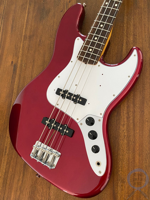 Fender Jazz Bass, '62, Old Candy Apple Red, 2014, AS NEW