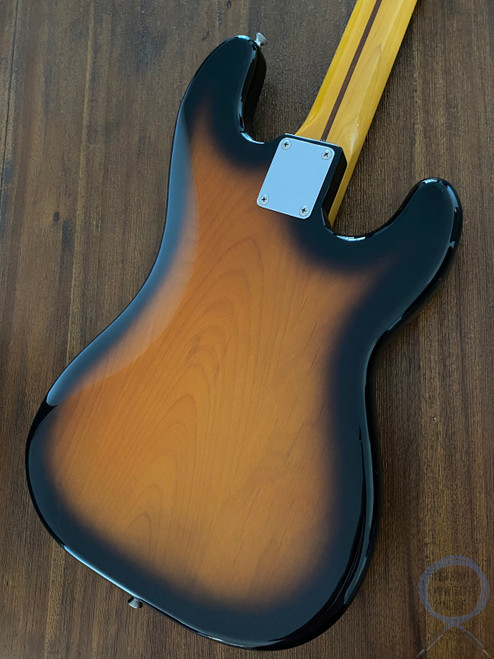 Fender Precision Bass, LEFT HAND, '57, Sunburst, 1997, Alder Body