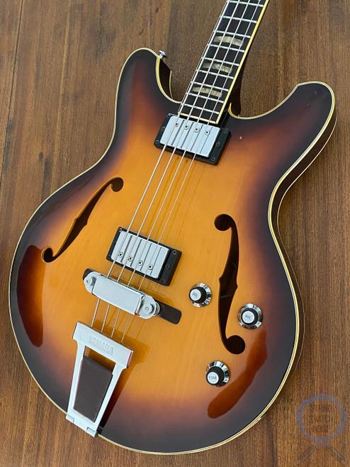Yamaha, SA75 Bass, 1974, Hollow Body, Sunburst, VERY RARE, OHSC