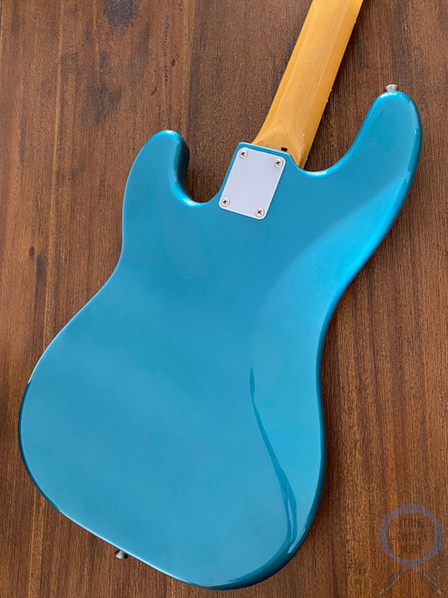 Fender Precision Bass, '62, Ocean Turquoise, 1997, USA Pickups