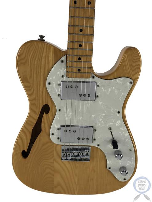 "Fender Telecaster Thinline, '72, 1983, RARE, ""JV"" Serial, Natural Ash"