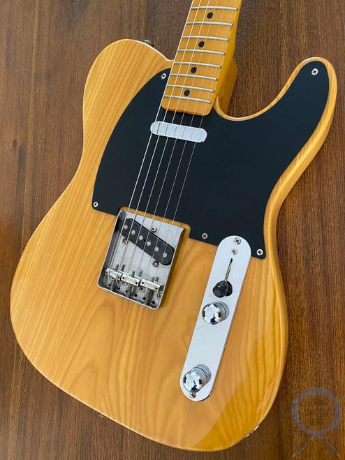 Fender Telecaster, '52, Natural Blonde, 1997, RARE V Neck, USA Pickups