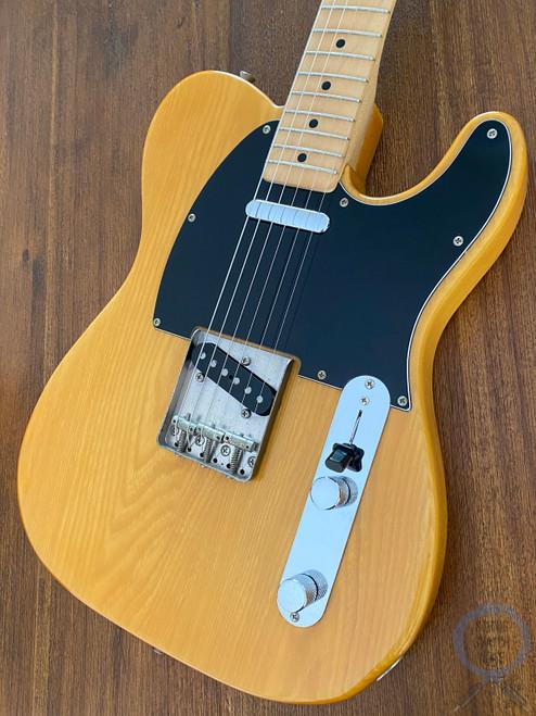 Fender Telecaster, '72, Natural Blonde, Ashwood, 1988