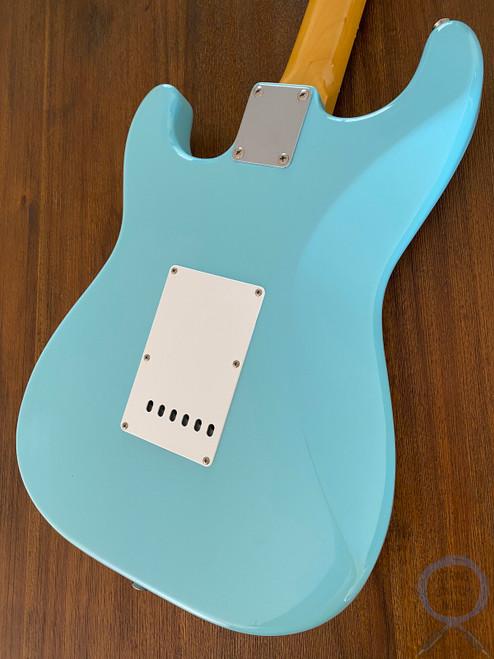 Fender Stratocaster, '62, Sonic Blue, USA Pickups, 2004, NEAR NEW