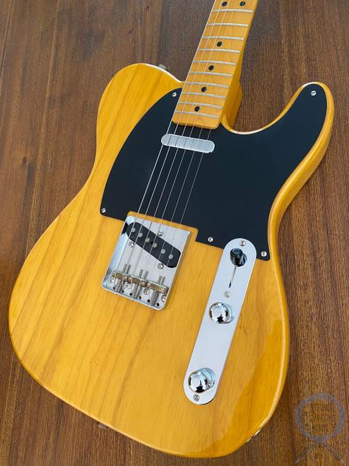 Fender Telecaster, '52, Natural Blonde, 2010, USA Texas Pickups