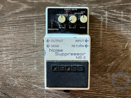 Boss NS-2, Noise Suppressor, Made In Japan, 1987, 1st YEAR, Vintage Guitar Effect Pedal