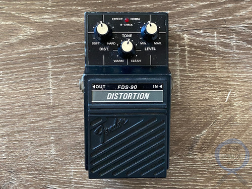 Fender FDS-90, Distortion, MIJ, (Maxon SD-1) 80's, Vintage Guitar Effect Pedal