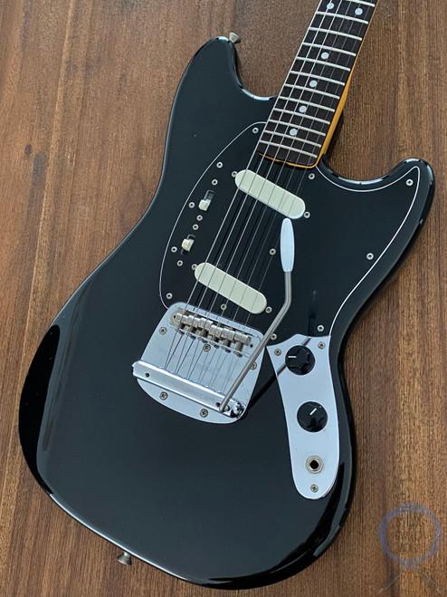 Fender Mustang, '69, Black on Black, 2008