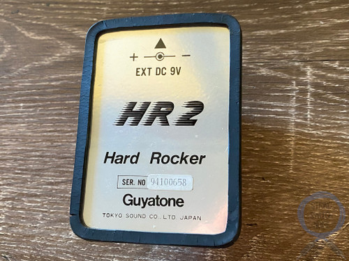 Guyatone HR2, Micro Series, Hard Rocker, Overdrive, Made In Japan, 1980s Vintage Guitar Effect Pedal