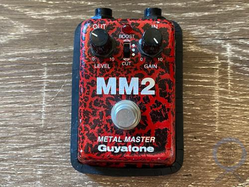 Guyatone MM2, Micro Series, Metal Master, Distortion, Made In Japan, 1980s Vintage Guitar Effect