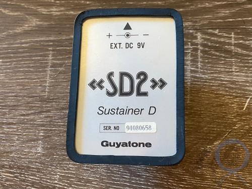 Guyatone SD2, (94080658) Micro Series, SustainerD, MIJ, 1980s Vintage Guitar Effect Pedal