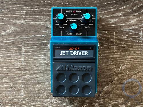 Maxon JD-01, Jet Driver, Overdrive, Made In Japan, 1980s (104484) Original Boxing
