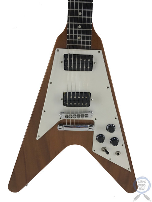 Gibson Flying V, Limited Edition, Antique Natural, USA, 1997, OHSC