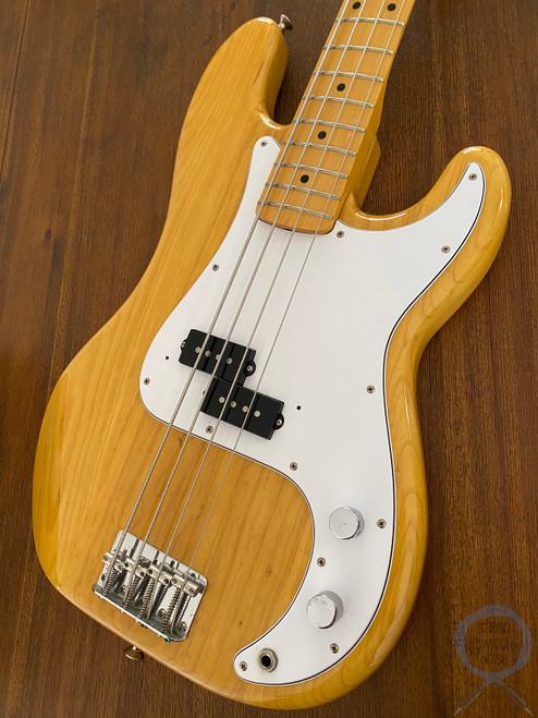 Fender Precision Bass, '70, Natural Ashwood, 1999, USA Vintage Pickup