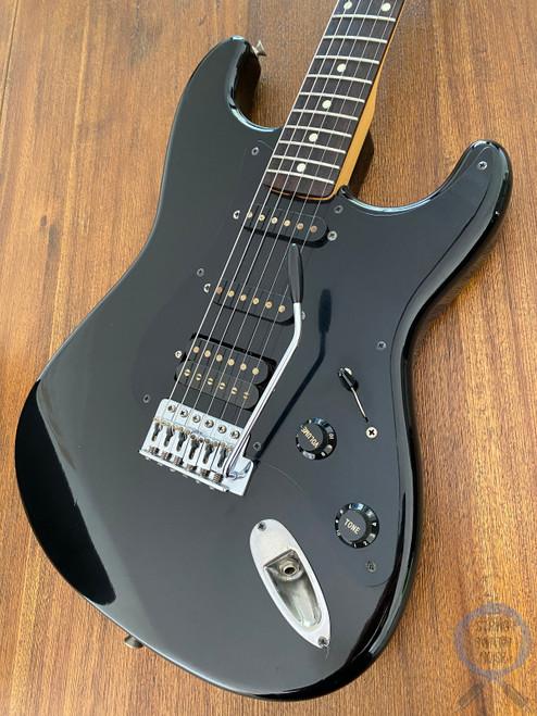 Fender Stratocaster, BOXER, Black, HSS, 1984