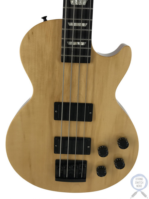 Gibson Les Paul Bass, Translucent Amber, 1997, Hard Case, Bartolini