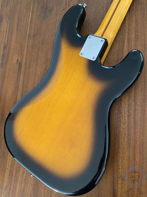 Fender Precision Bass, '57, LEFT HAND, Two Tone Sunburst, 1999