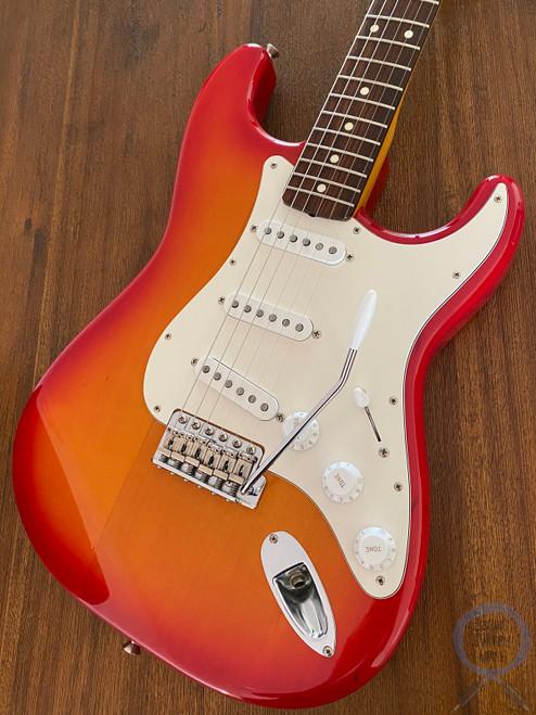 Fender Stratocaster, '62, Cherry Burst, USA Pickups, 2011