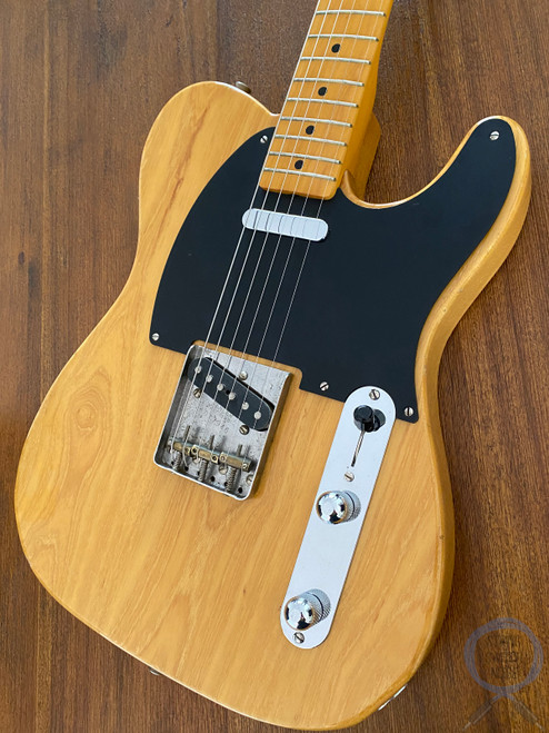 Fender Telecaster, '52, Natural Blonde, USA Pickups, 1999, RARE V Neck