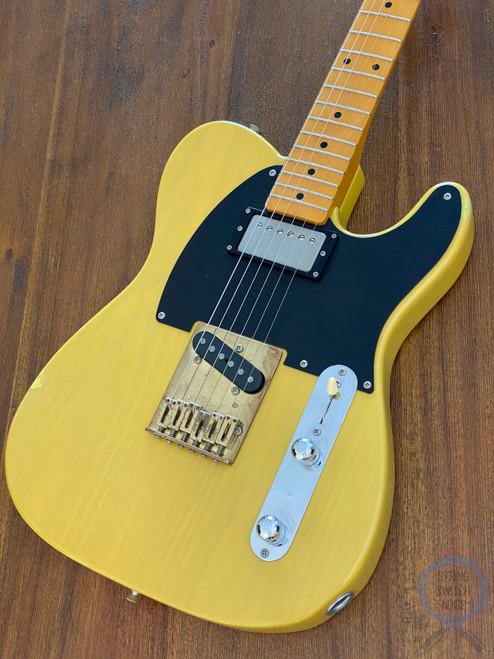 Fender Telecaster, '52, RARE, Keith Richard's Micawber, Blonde, 1989