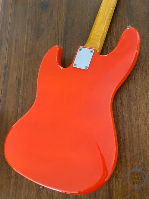 Fender Jazz Bass, '62, Fiesta Red, 2002, USA Pickups