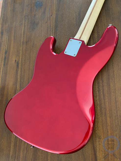 Fender Jazz Bass, Candy Apple Red, Red Tort Guard, 2004