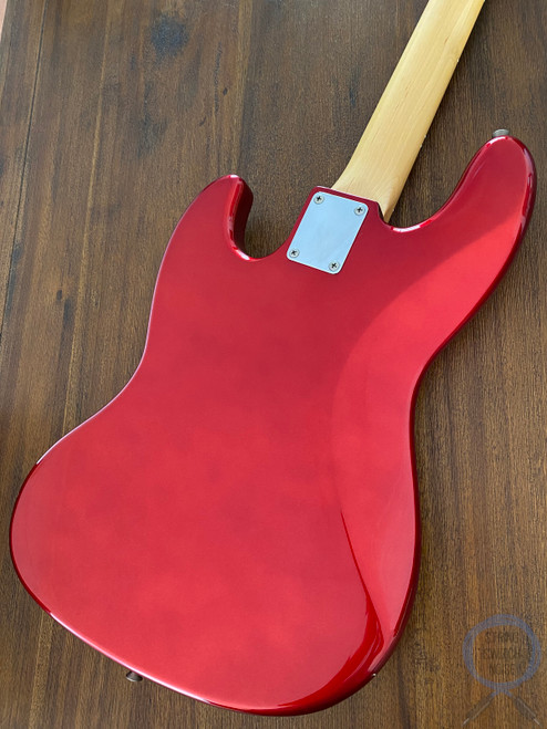 Fender Jazz Bass, Candy Apple Red, White Guard, 1993
