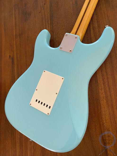 Fender Stratocaster, '57, Sonic Blue, 2012, White Guard