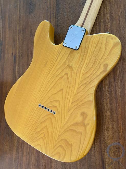Fender Telecaster, '72, Natural Blonde, Ashwood, 1986