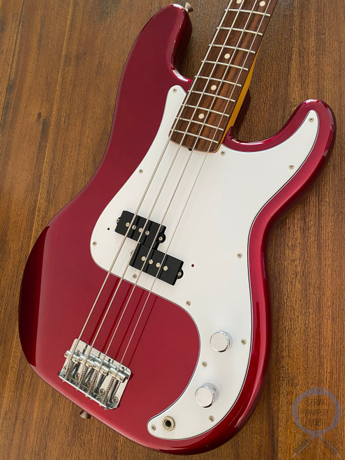 Fender Precision Bass, '62, Old Candy Apple Red, 2010, AS NEW