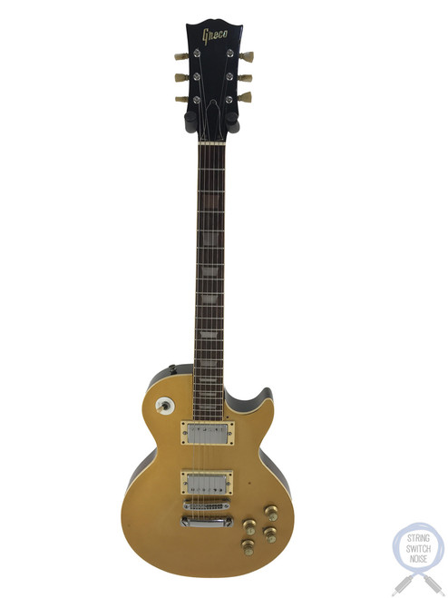 Greco, Les Paul, Gold Top, 1974 Vintage