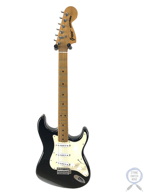 Greco Stratocaster, 1976, Super Sounds, SE-500, Black