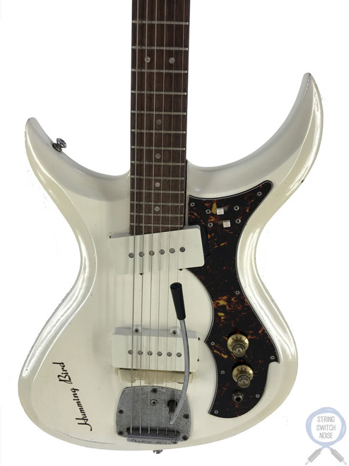 Tokai Humming Bird, Offset Guitar, White, Vintage 1960s, RARE