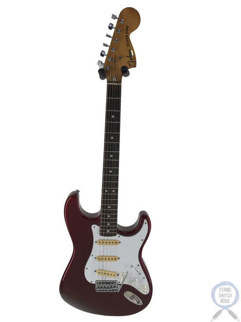 Tokai Stratocaster, Silver Star, Old Candy Apple Red, 1979, RARE COLOUR