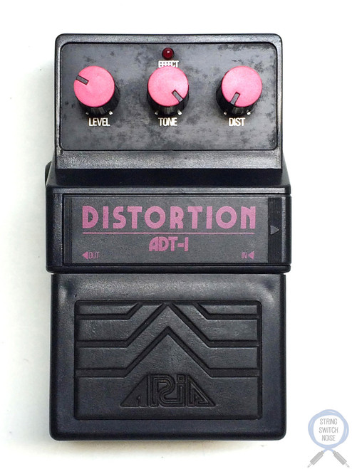 Aria ADT-1, Distortion, Made In Japan, 1979-1983, Vintage Effect Pedal (2)