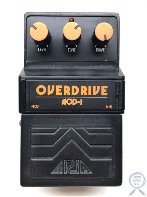 Aria AOD-1, Overdrive, Made In Japan, 1979-1983, Vintage Effect Pedal (4)