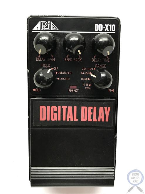 Aria DDX-10, Digital Delay Super Dual Stage series 1983-85 Made In Japan Vintage