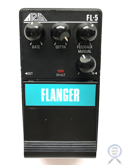 Aria FL-5, Flanger, Pro II Series 5, MIJ, 1985-Late 80's Original Boxing Vintage