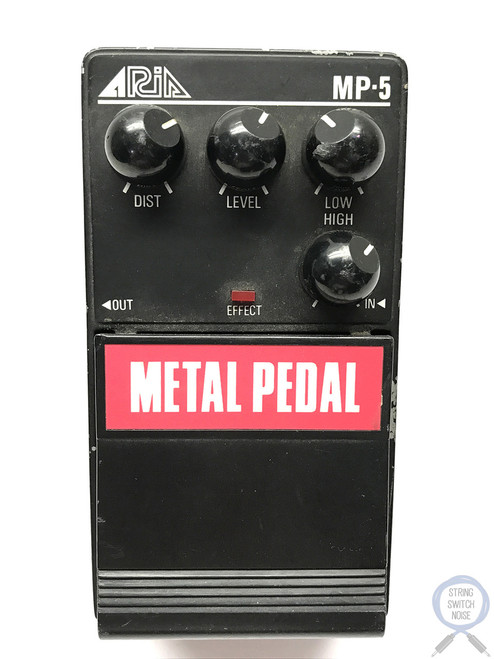Aria MP-5, Metal Pedal, Pro II Series 5, Distortion, MIJ,1985-Late 80's, Vintage