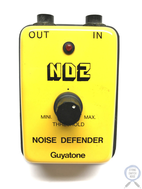 Guyatone ND2, Micro Series, Noise Defender, Noise Gate, Made In Japan, 1980's